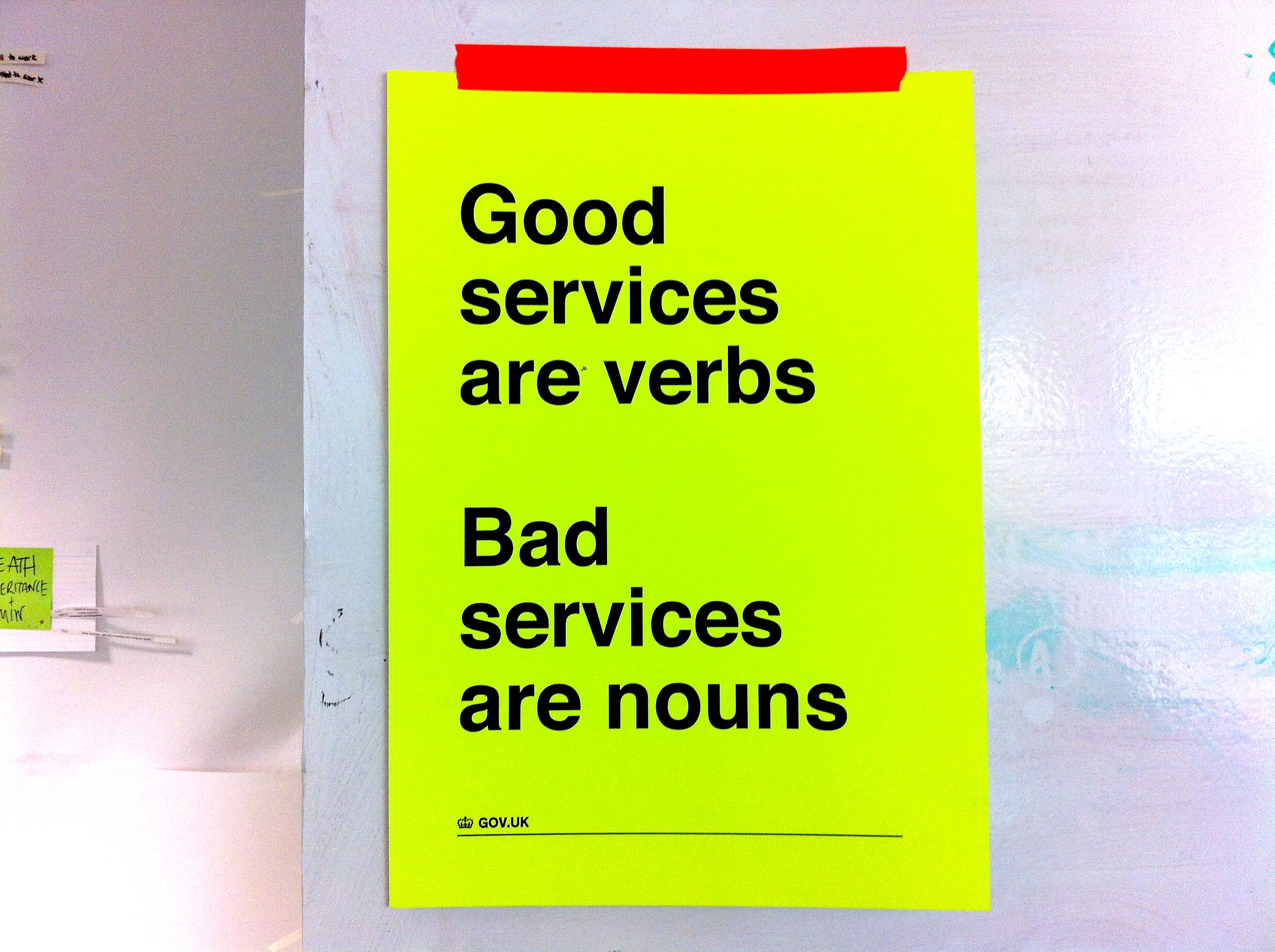 good services are verbs bad services are nouns design notes what makes a good service