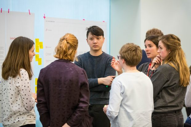 Students at the last Public Sector Student Design Day