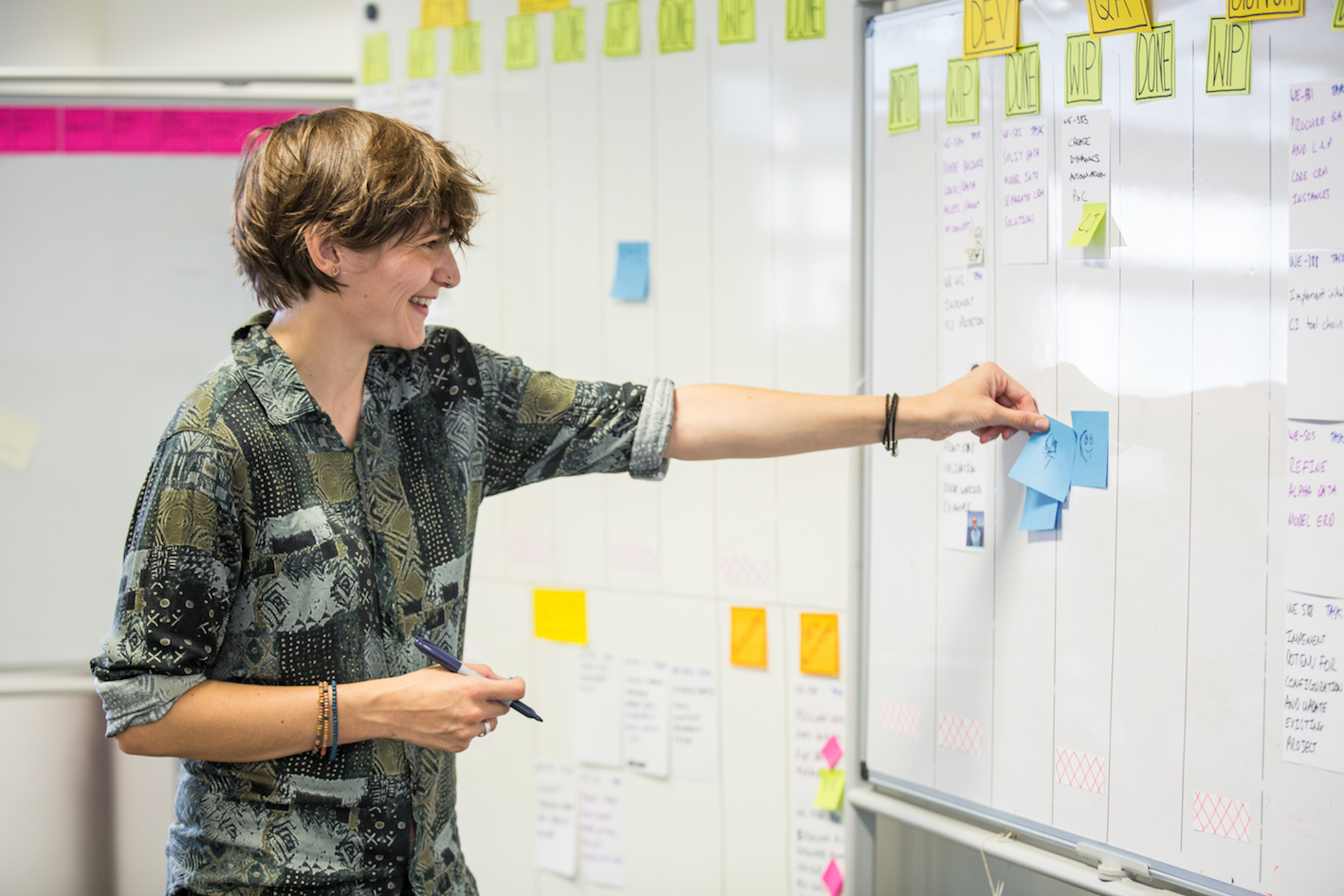 Cathy Dutton, interaction designer