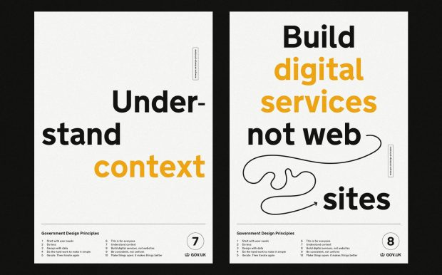 Government Design Principles 7 and 8: Understand context, and build digital services not websites